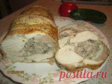 Ароматный куриный рулет со специями — вкуснее любой колбасы!