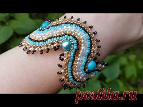 Браслет из бисера/Beaded Bracelet/Браслет своими руками/Diy bracelet