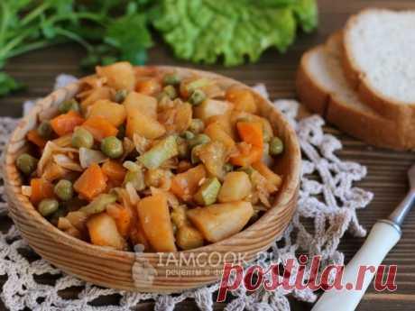 Овощное рагу как в детском саду — рецепт с фото Овощное блюдо, в котором овощи подвергаются щадящей тепловой обработке, будет полезно детям. Поэтому оно включается в меню детских садов.