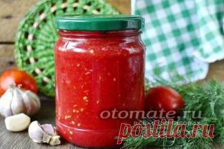 Помидоры, протертые с чесноком на зиму, рецепт с фото Заготовка из спелых помидор, протертых с чесноком получается вкусной, пикантной и немного острой. А пошаговый рецепт с фото поможет в ее приготовлении.