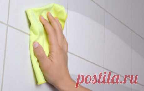 Как сделать швы кафеля в ванной снова белыми?