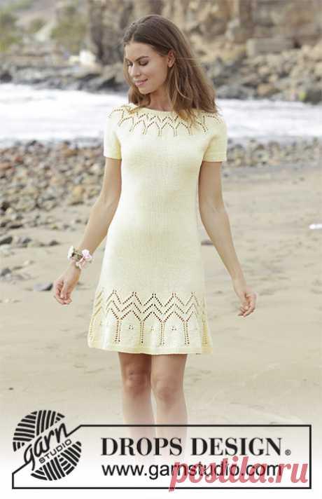 Платье Embrace of the Sun - блог экспертов интернет-магазина пряжи 5motkov.ru