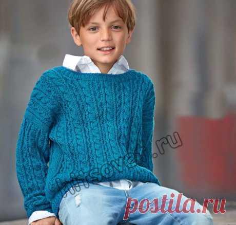 Пуловер для мальчика - Хитсовет