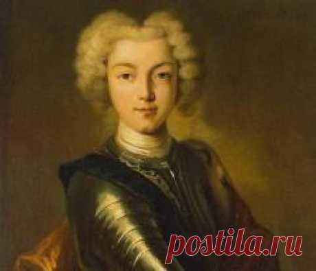 Сегодня 23 октября в 1715 году родился(ась) Петр II