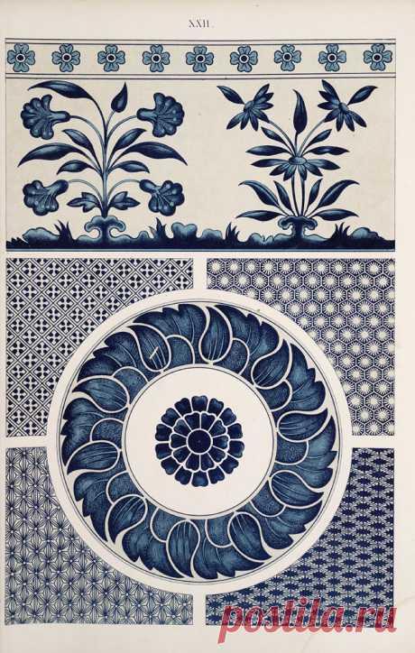Коллекция картинок: Owen Jones, 1809-1874_ Китайские орнаменты