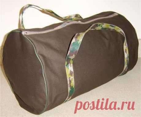 Выкройка спортивной сумки (Шитье и крой) | Журнал Вдохновение Рукодельницы