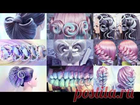 Причёски октября | Коллекция | Без звука | Hairstyles by REM | Copyright ©