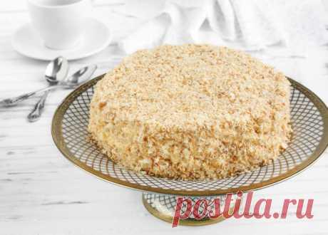 Торт со сгущенкой на сковороде рецепты с фото