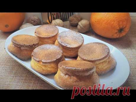 Ароматнейшие морковно-апельсиновые кексы!