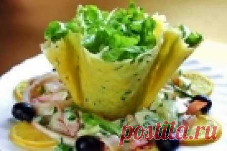 Сырные корзинки - пошаговый рецепт с фото на Повар.ру