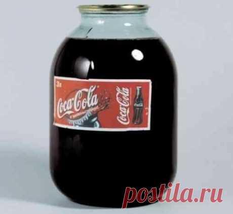 Как использовать Кока-колу в быту / Домоседы
