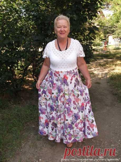 ¡Kvanessa, de nuevo ti con el vestido nuevo!