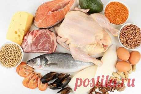 Самые популярные белковые продукты для похудения