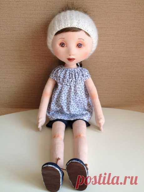 Eu Amo Artesanato: Boneca de Cabeça Revestida Passo a Passo