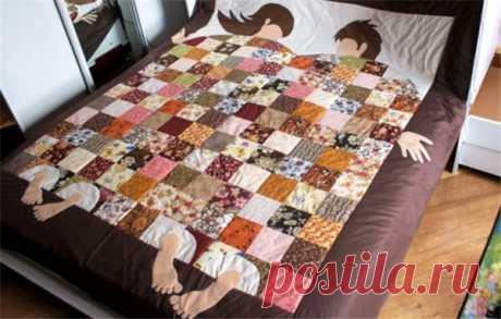 Лоскутное одеяло своими руками – лучшие дизайнерские решения   Краше Всех