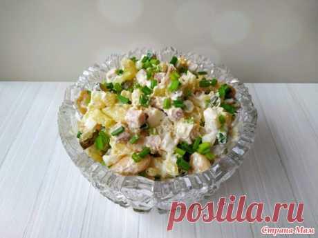 Салат с фасолью (без майонеза), обязательно попробуйте! - Люблю готовить - Страна Мам