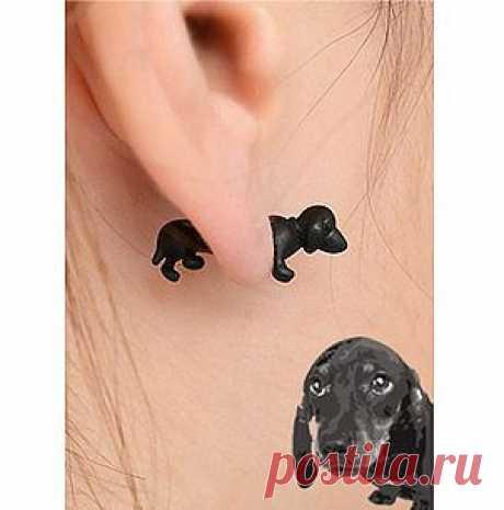 Earring blende Dachshund