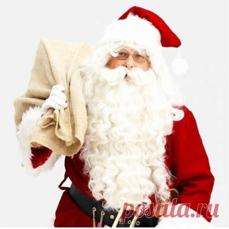 Новый квалифицированный Рождественский декоративный парик Санта Клауса + борода набор костюм аксессуар для взрослых рождественское праздничное платье купить на AliExpress