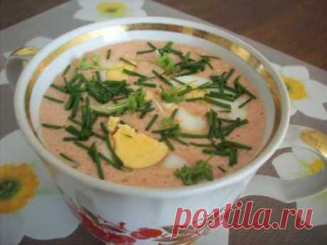 Суп для жаркого дня. : Угощает Лиза