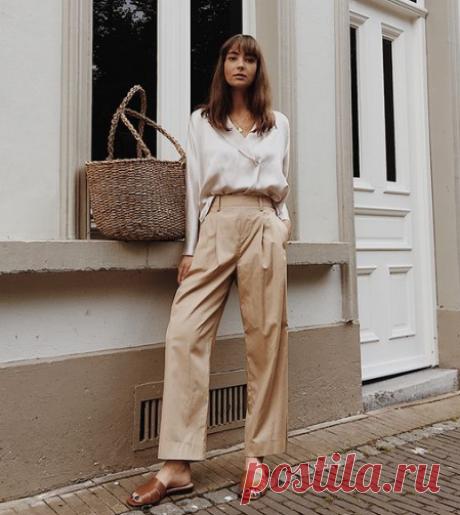 Модный стиль минимализм в женской одежде, его проявления