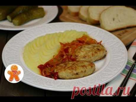 Chicken Cutlets with Cottage cheese and Vegetables ✧ Chicken Tvorozhniki
