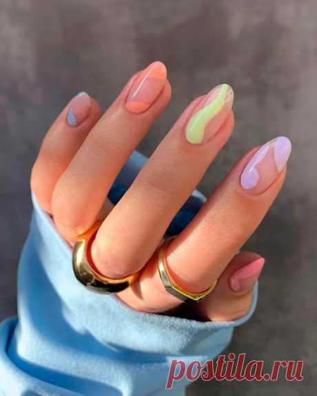 14 эстетичных дизайнов ногтей, если вам надоел классический маникюр | Рекомендательная система Пульс Mail.ru