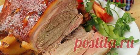 Как приготовить свиную рульку: рецепт с фото