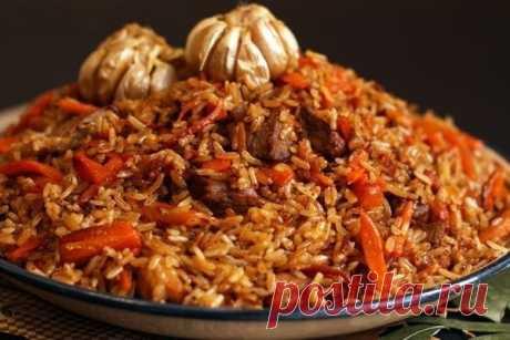 Плов узбекский рецепт – основные блюда
