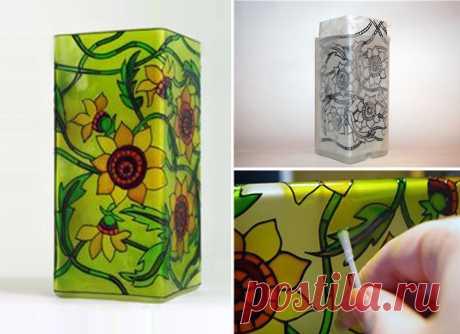 Витражные краски своими руками — Сделай сам, идеи для творчества - DIY Ideas