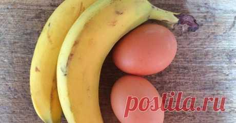 Банановые оладьи - Простые рецепты Овкусе.ру