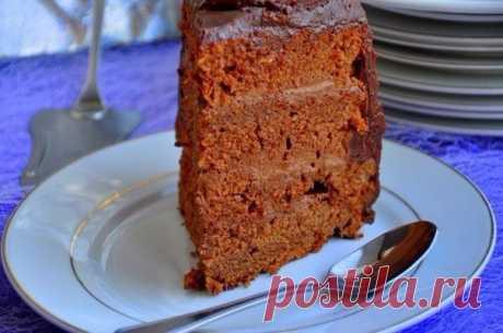 """Веб Повар!: Торт """"Пища дьявола"""" Devil's Food."""
