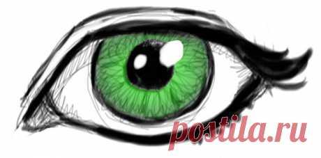 Учимся рисовать реалистичные глаза :: Уроки рисования для детей