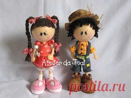 Куклы своими руками из фоамирана