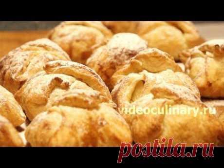 Яблочные пирожные - Видеокулинария.рф - видео-рецепты Бабушки Эммы