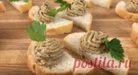 Грибной Паштет из Шампиньонов Очень Вкусный Рецепт Грибной паштет из шампиньонов в домашних условиях на багете. Паштет содержит творог, и именно он придаёт кремообразный нежный вкус грибному паштету.