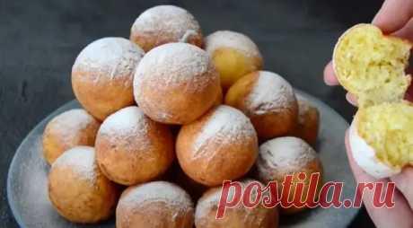Целая гора пончиков из одной пачки творога! - Ваши любимые рецепты - медиаплатформа МирТесен