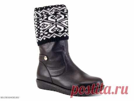 Сапожки школьные Неман 62085, черный - детская обувь, обувь для девочек, сапоги. Купить обувь Неман