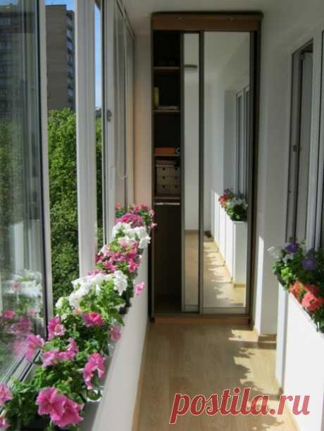 Балконы. Идеи.