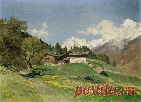Творчество художника из Англии Эдварда Теодора Комптон