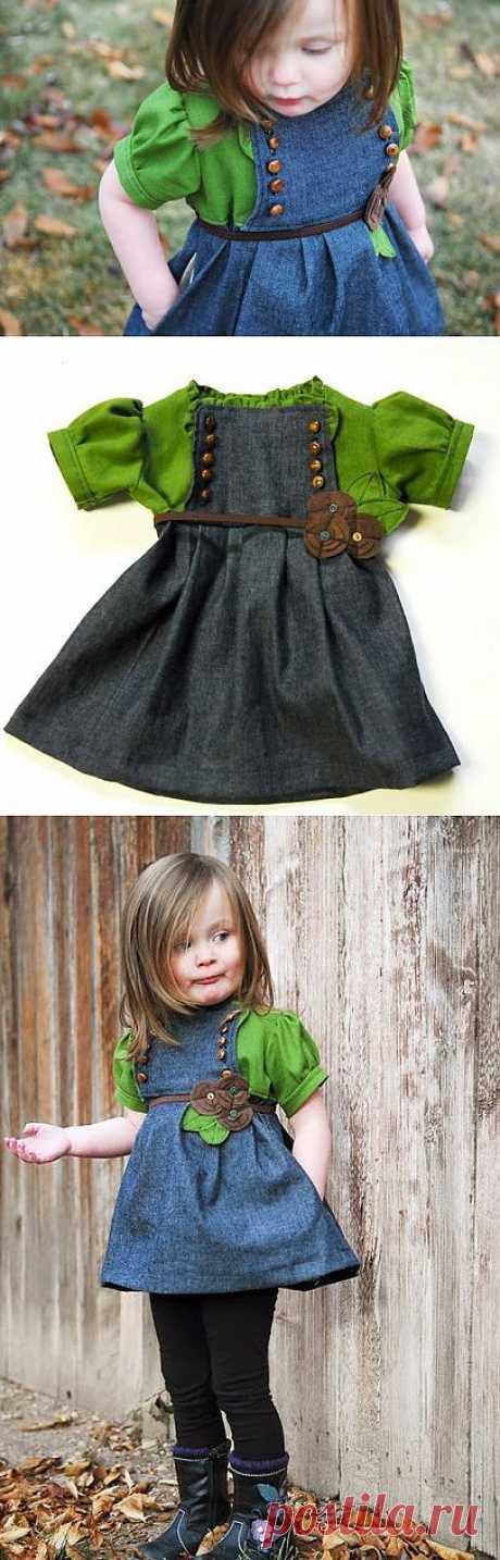 Детское платье (Diy) / Для детей / Модный сайт о стильной переделке одежды и интерьера