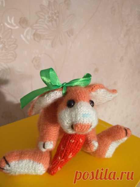 Кролик Абрикос с морковкой
