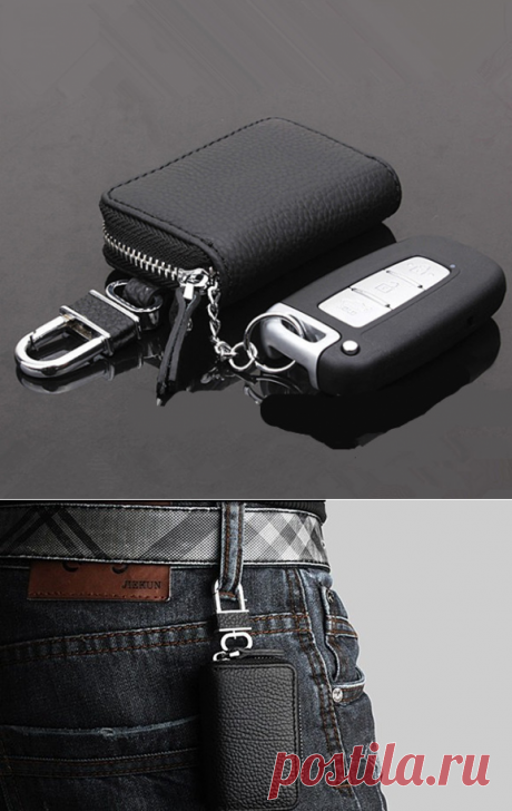 The key keeper from genuine leather - 374 rub. Delivery to any city free!