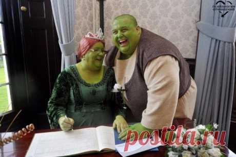Самая оригинальная свадьба: когда у людей все отлично с чувством юмора!