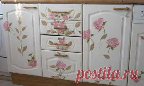 Декорируем старую мебель своими руками: способы, этапы