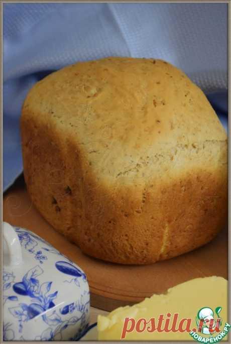 Хлеб с грецкими орехами - кулинарный рецепт