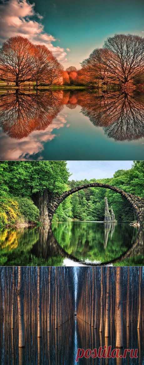 Зеркальные пейзажи (ФОТО) | САМЫЙ СОК!