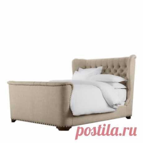 Кровать Hirtshals. Дизайнерские кровати купить в Москве - элитные кровати премиум класса, цена в интернет-магазине ForestGum