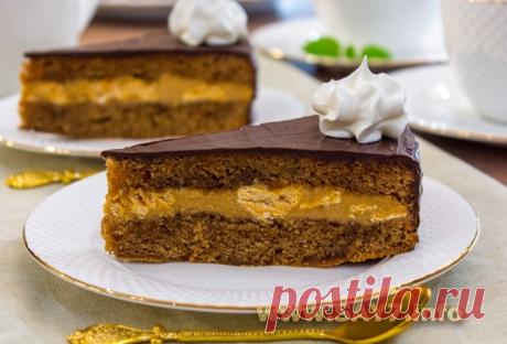 Шоколадный торт «Восторг»
