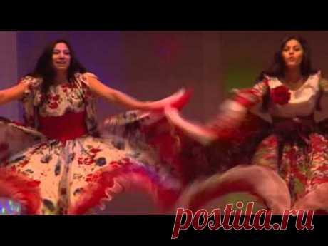 """Зажигательный цыганский танец """"Колесо удачи"""""""