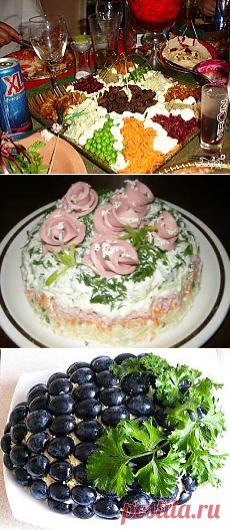 САЛАТЫ | Мария Селезнева | Рецепты простой и вкусной еды на Постиле